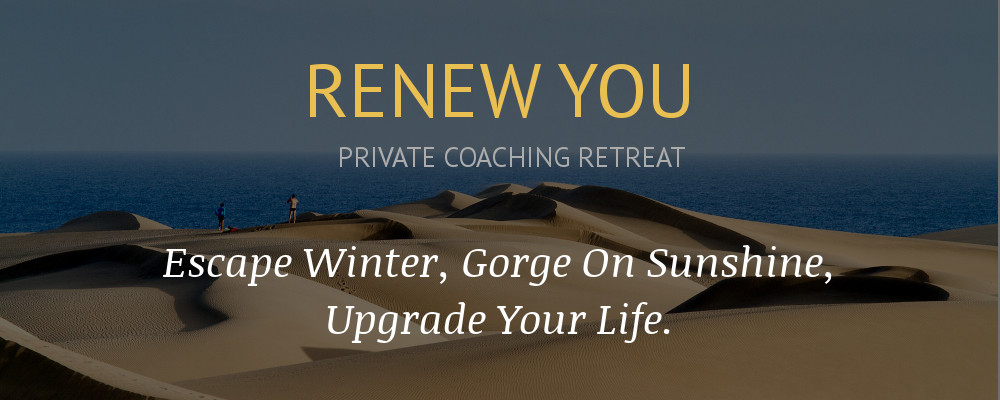 renew you private coaching retreat