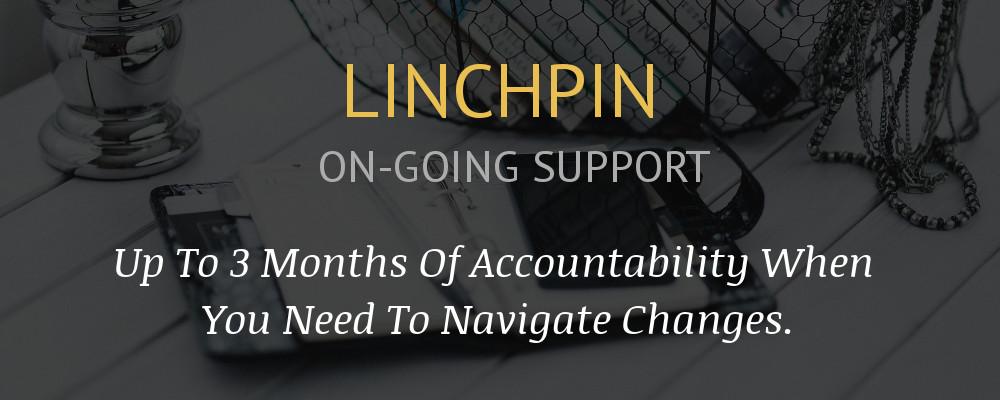 Linchpin banner